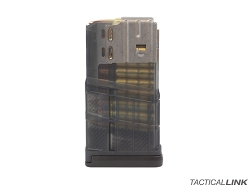 Lancer Systems L7AWM 20rd Mag For 7.62/.308 Rifles - Translucent Smoke