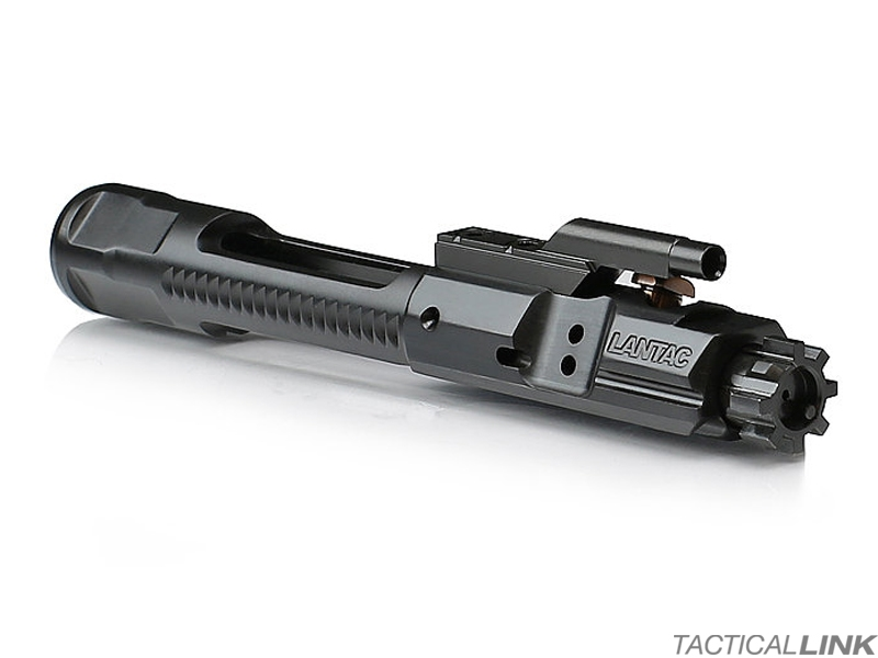 Lantac Full Mass Full Auto Enhanced Bolt Carrier Group For AR15 Style 5.56 / .223 Rifles - Black Nitride