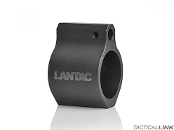 Lantac Low Profile Non Adjustable .750 Inch Gas Block For AR15 Style Rifles - Set Screw