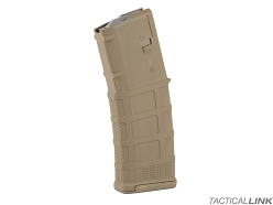 Magpul PMag Gen3 30 Round Non Windowed AR15 Magazine - Med Coyote Tan