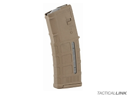 Magpul PMag Gen3 30 Round Windowed AR15 Magazine - Medium Coyote Tan