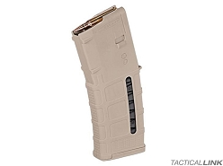 Magpul PMag Gen 3 Windowed 30 Round 5.56/.223 Magazine For AR15 Style Rifles - Sand