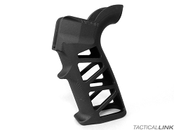 Naroh Arms Skeletonized GRAL-S Billet Aluminum Grip For AR Style Rifles - Black