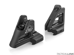 Scalarworks Peak Fixed Iron Sights - Front + Rear Set