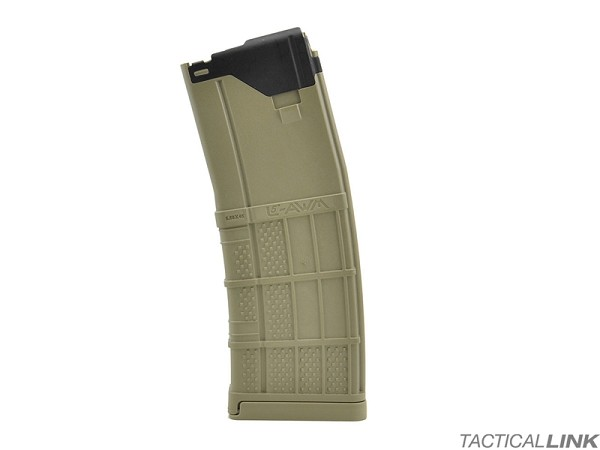 Lancer Systems L5AWM 30 Round 5.56/.223 Magazine For AR15 Style Rifles - Flat Dark Earth