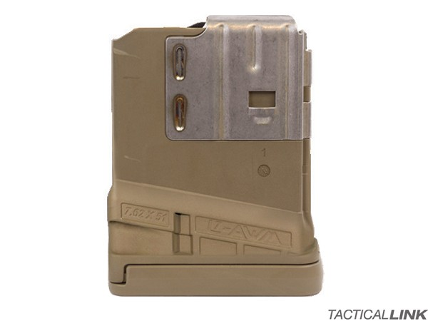 Lancer Systems L7AWM 10 Round Mag For 7.62/.308 Rifles - Opaque FDE