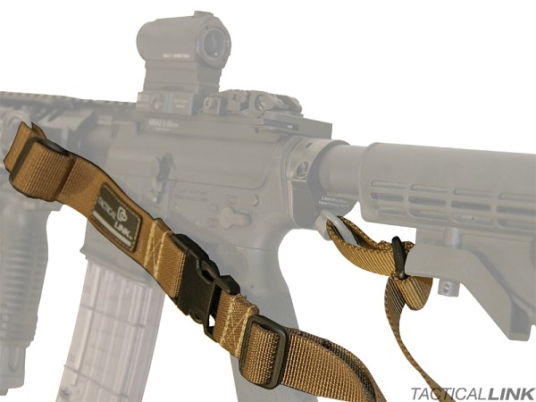 Tactical Link Interceptor Bungee 2 Point Tactical Sling For AR15 Style Rifles